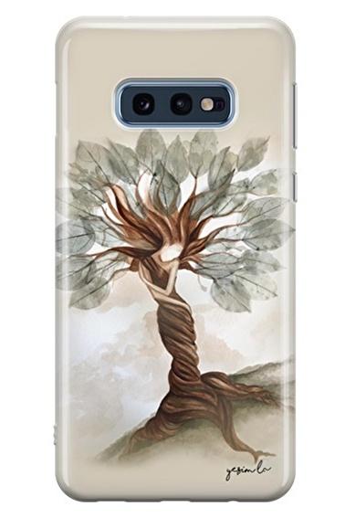 Lopard Samsung Galaxy S10E Kılıf İçimdeki Güç Kapak Renkli